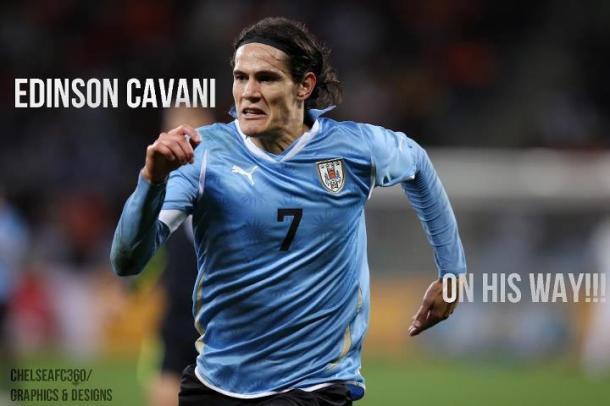 EDINSON CAVANI ON HIS WAY!!!