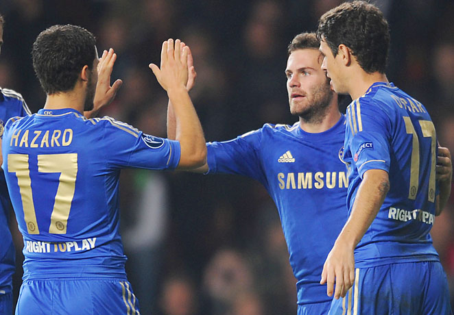 Oscar and Mata . Who will be the number 10