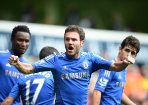 Juan Mata is your player of the year!