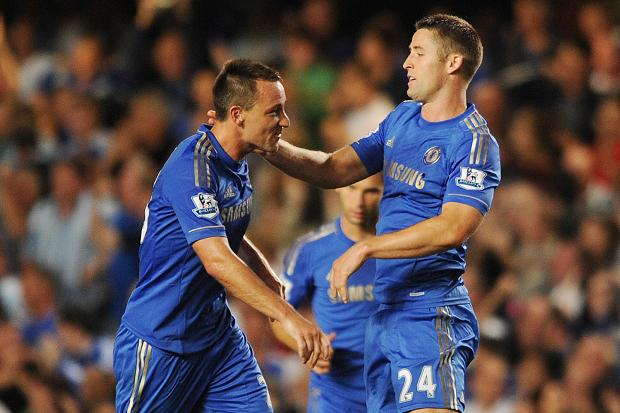 Terry and Cahill have formed a solid partnership in the heart of the Chelsea defense.