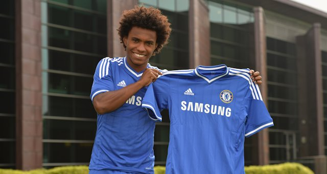 Welcome to Chelsea Football Club Willian!