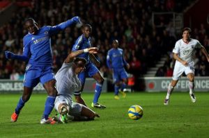 Demba Ba scoring his teams fourth goal-1519824