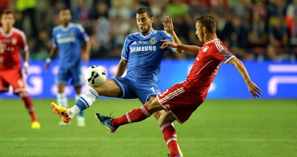 Hazard vs Bayern Munich