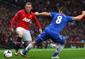 Lampard vs Rooney