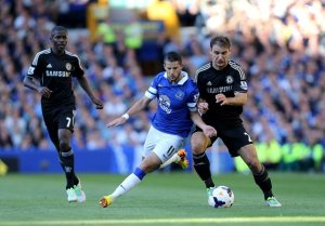 A frustrating afternoon for Chelsea as they lost 1-0 at Goodison Park