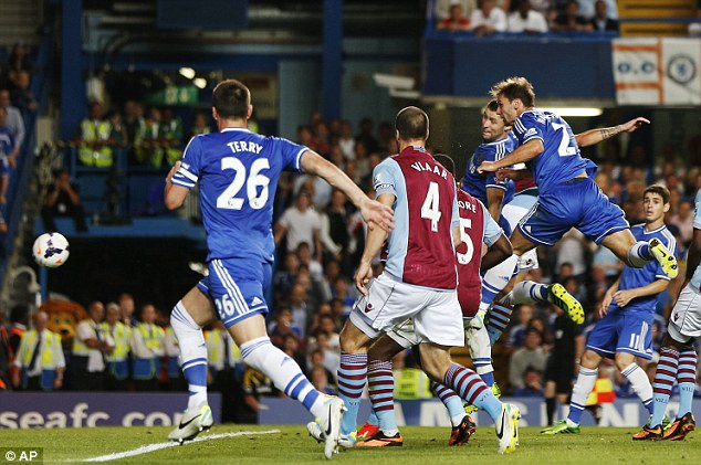 Chelsea's last victory came against Aston Villa on 21 August