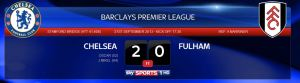 CFC VS Fulham result