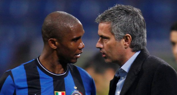 Jose and Eto'o love affair will not last much longer if things remain the same