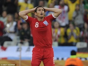 Lampard reaction to ghost goal