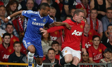 Wayne Rooney was the centre of attention at Old Trafford with strong rumors surrounding him to move to Chelsea