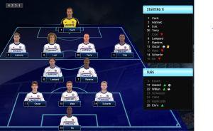 Norwich vs CFC starting 11