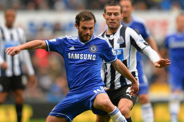Mata vs Newcastle