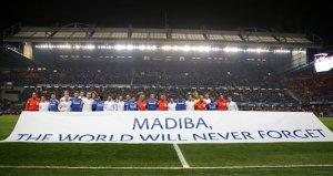 Chelsea tribute to Mandela