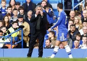 Jose talks to Hazard