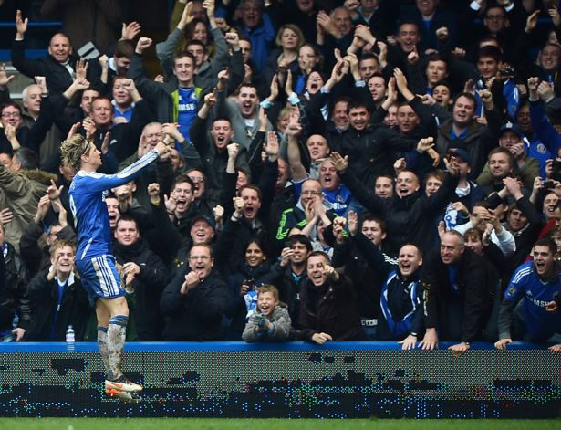 The fans' support for Torres has been exceptional from day one.