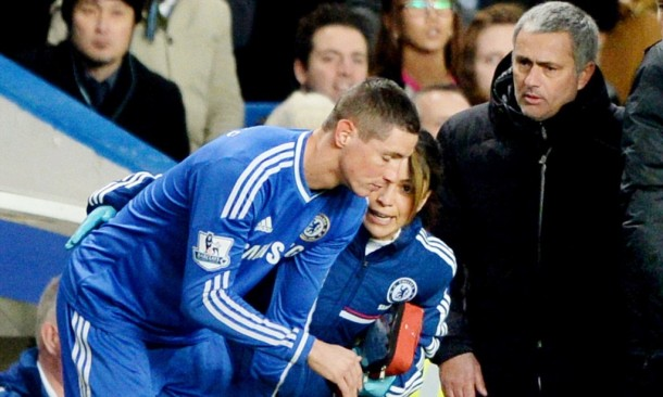 Jose Mourinho says that Fernando Torres is fully back and will be available tomorrow.