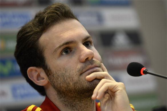 Mata's place in the Spain XI could also be in danger.