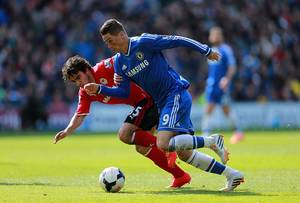 Torres outpaced a Cardiff Player