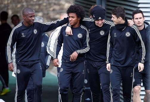 Willian Oscar Ramires David Luiz