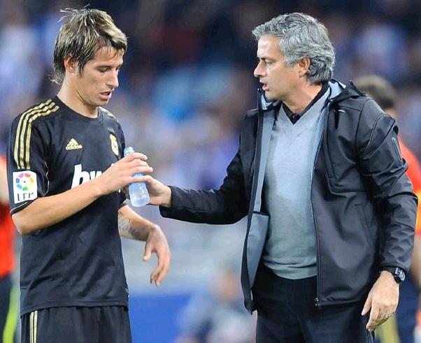 Coentrao and Mourinho