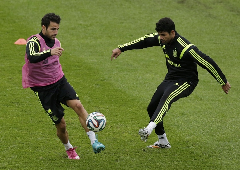 Diego Costa and Cesc Fabregas have seemed to have developed a special understanding on the pitch